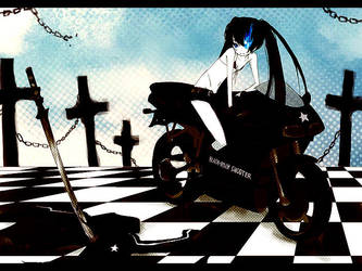 BLACK ROCK SHOOTER by KL-chan