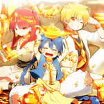 Labyrinth of Gold by KL-chan