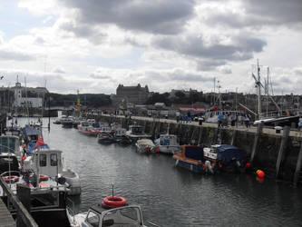 Scarborough Harbour 2 by PlatinumRobert