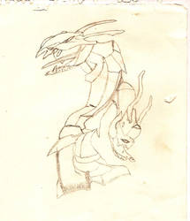 Dragon -Unfinished tester- by PlatinumRobert