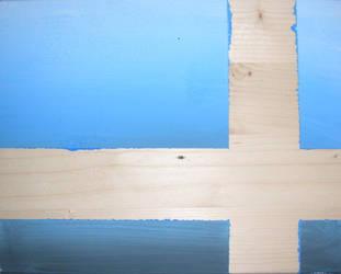 wooden blue by bellsley