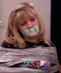 Jennette Mccurdy Tape Bound and Gagged by Goldy0123