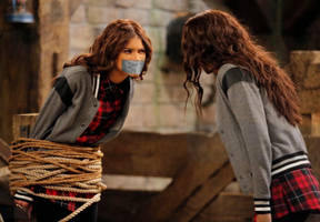 Zendaya Rope Tied Tape Gagged 3 by Goldy0123