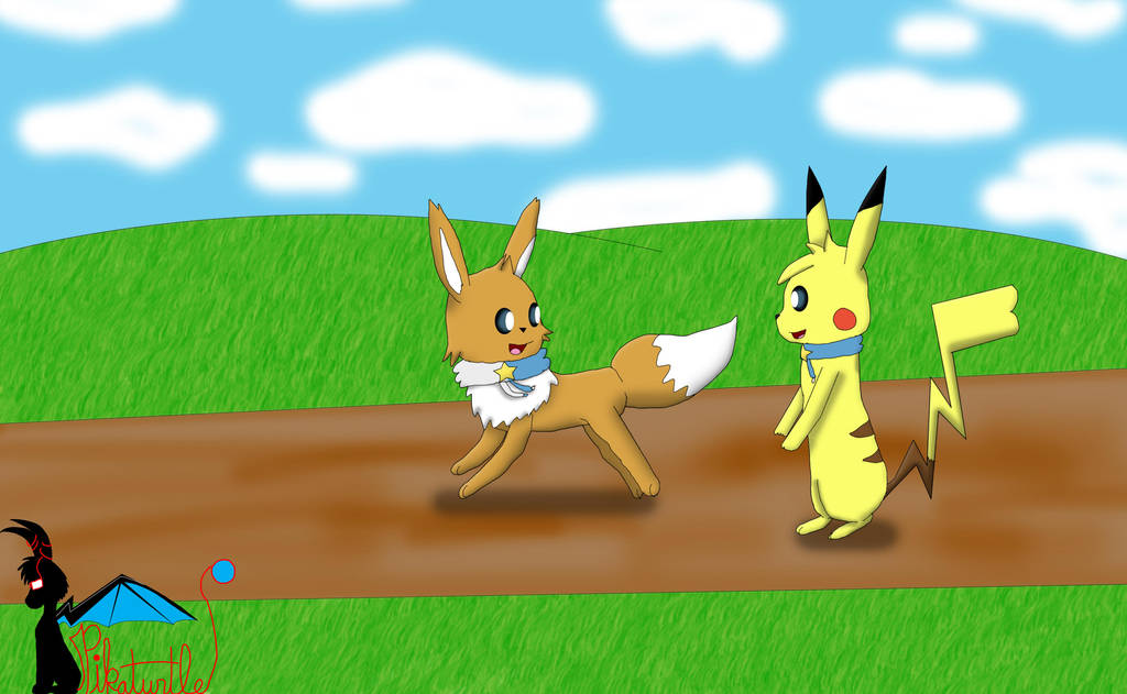:CP: Let's Go! by Pikaturtle