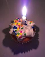 Birthday Cupcake by Lady-Kelaria