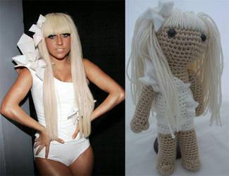 Lady Gaga Amigurumi by Lady-Nocturna
