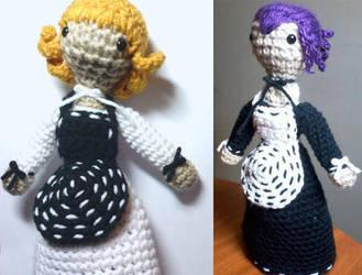 Amigurumi Flip Doll by Lady-Nocturna