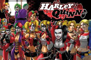 Harley QuinnS! by JamesRod71