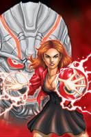Scarlet Witch - Age of Ultron by JamesRod71