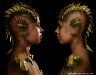 Iguana Girl by rachaelwagner