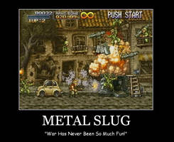 Metal Slug Poster by LukeTheRipper