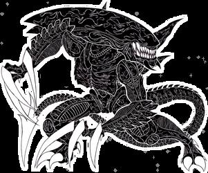 Killer Alien by LukeTheRipper