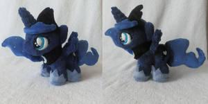 Princess Luna Filly Plush by StarMassacre