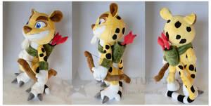 Hunter the Cheetah (Updated) by StarMassacre