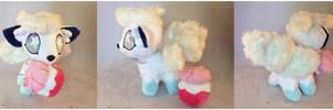 Aloha Vulpix Plush *Sold* by StarMassacre