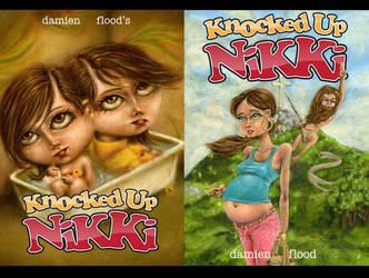 knocked up nikki, cover issue1 by knockedUpNikki