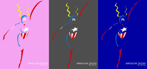 American Dream Triptych by neilkristian