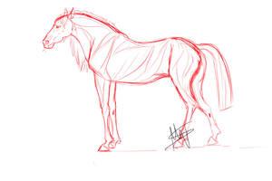 Horse by Rakuens