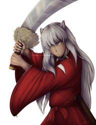 Inuyasha - Fan Art by Rakuens