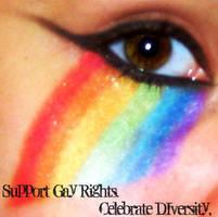 Supporting Gay Pride by trevor-vampire