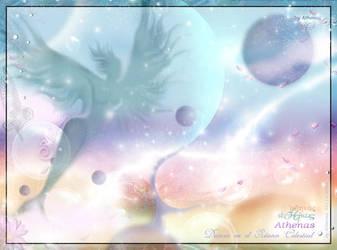 .Danza en el Oceano Celestial. by Athenasojosdelechuza