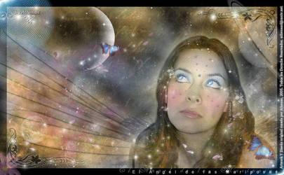 .::Angel de las Mariposas::. by Athenasojosdelechuza