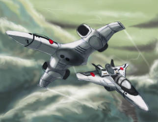 Friendly Competition 8-07 by Robotech-Fans