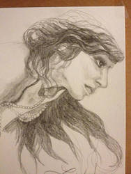 My great-aunt - actress and contortionist -WIP by hotwiar