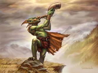 Goblin Blower by Ruzsi