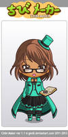 Me as a chibi~! by Gumi1111