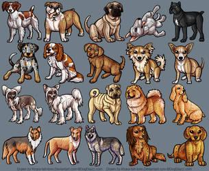 Plush Dogs 3 by KiRAWRa