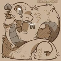 Fuzzy Noodle by KiRAWRa