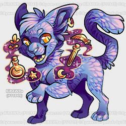 Aywas: Witch Cat by KiRAWRa