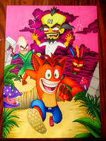 Crash Bandicoot by BlueHorizon89