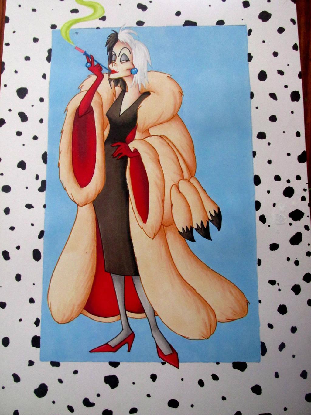 Cruella De Vil by BlueHorizon89