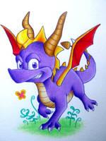 Spyro by BlueHorizon89