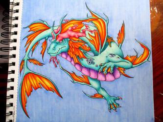 Sea Dragon by BlueHorizon89