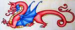 Medieval Dragon by BlueHorizon89