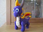 Spyro Amigurumi by BlueHorizon89
