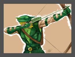 Green Arrow by Jamibug