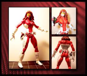 Redd Rocket custom figure by Jamibug