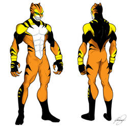 Tigercat by Jamibug
