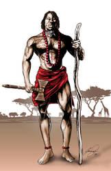Jonathan Shango Warrior by Jamibug