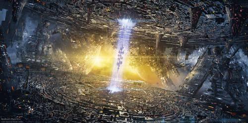 NeoTerya : Proto-City by elreviae