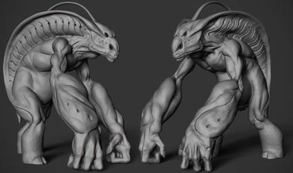 Creature Concept by fumanshooh
