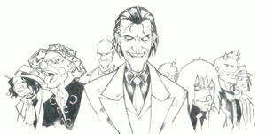 sketchy : The Joker by KidNotorious