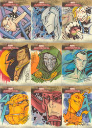 Marvel Masterpieces II set3 by KidNotorious