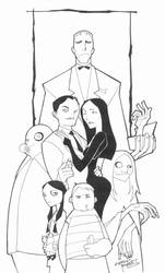 sketchy : the Addams Family by KidNotorious