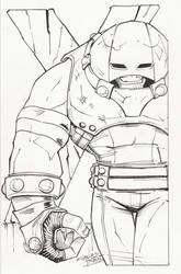 sketchy. Juggernaut by KidNotorious