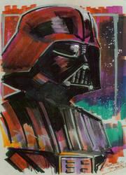 Marker : Darth Vader by KidNotorious
